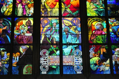 prague-st-vitus-cathedral-mucha-window-close-up