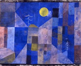 Paul Klee - Moonshine 1919 (gouache wc on linen) - (MeisterDrucke-163664)